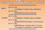 Programa de la festa del Barri de La Sauleda