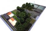 Imatge del futur parc urbà del Carrilet