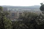 Vista del barri de La Sauleda i, al fons, el carrer Ample
